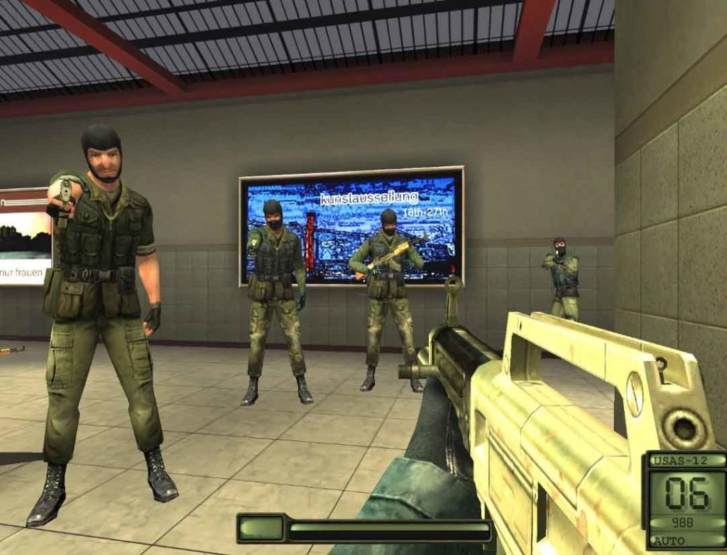 Counter Force Shootout Sniper-High graphics action games